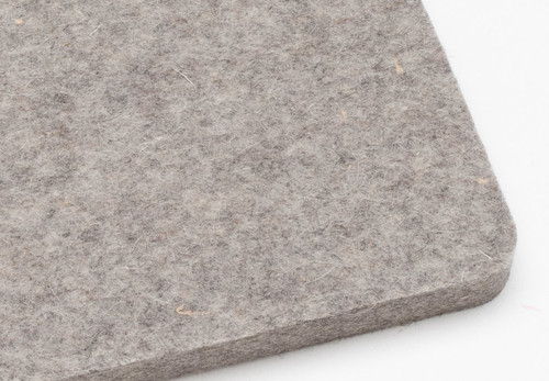 "F7 (12R3) Wool Felt Sheet 24"" x 72"" x 1/2"" Thick - $116.20"