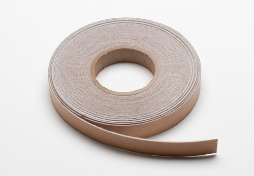 "White Felt Stripping, Adhesive Backed 1"" Wide x .5mm (.02"") Thick, 50' Roll - 3 Roll Minimum"