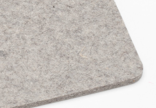 "F-3 Industrial Wool Felt, 1/4"" Thick x 60"" Wide"