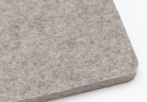 "F-3 Industrial Wool Felt, 1/2"" Thick x 60"" Wide"