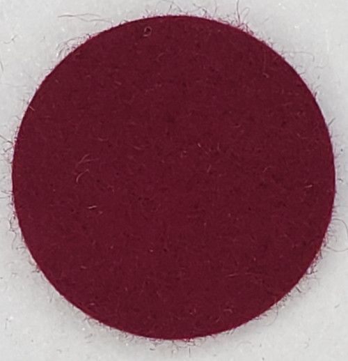 "Designer Wool Burgundy, 1/8"" Thick x 72"" Wide"