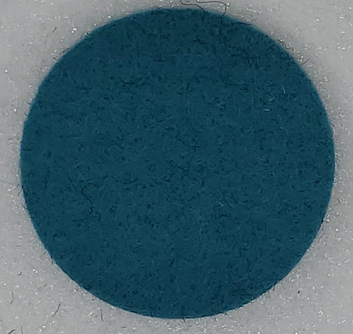 "Designer Wool Turquoise, 1/8"" Thick x 72"" Wide"