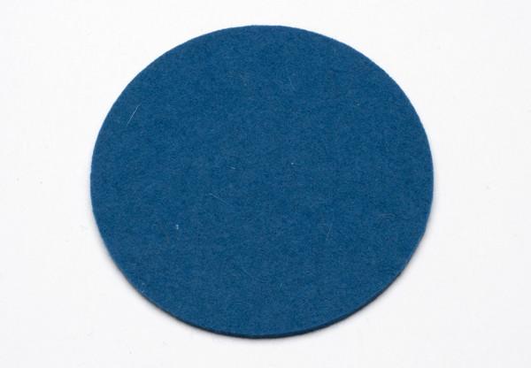 Felt Coasters, Denim Blue