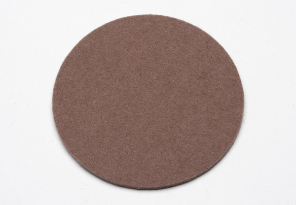 Felt Coasters, Northwood Brown