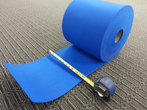 "Tuf Cut Vibrant Blue Felt Roll 10"" wide x 100' long x .100"" thick  $39.99"