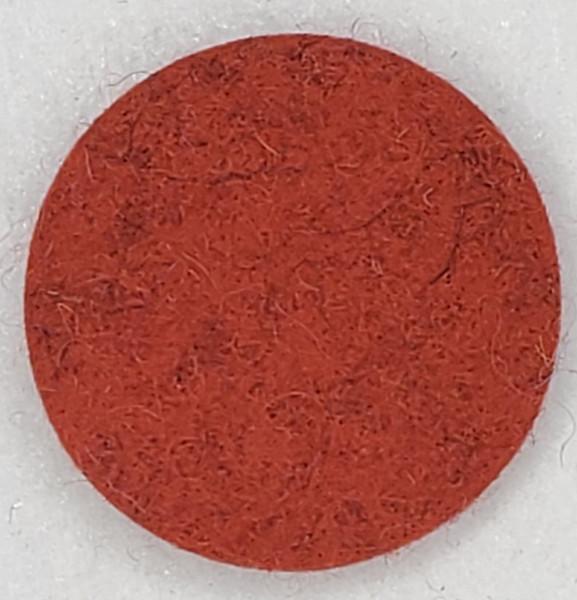 """Designer Wool Autumn Orange, 1/8"""" Thick x 72"""" Wide"""