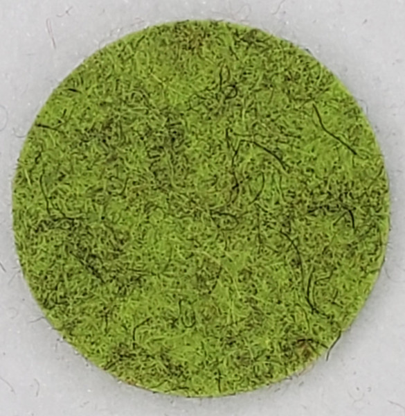 """Designer Wool Chartreuse, 1/8"""" Thick x 72"""" Wide"""