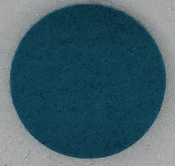 """Designer Wool Turquoise, 1/8"""" Thick x 72"""" Wide"""