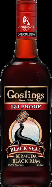 Black Seal Gosling 151 Proof
