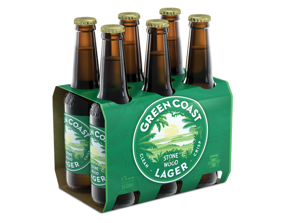 Stone & Wood Green Coast Lager 330ml - 6 Pack