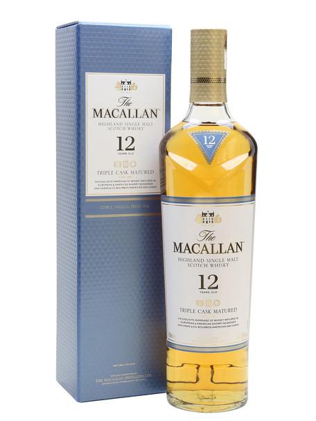 Macallan 12 Year Old Triple Cask 700ml