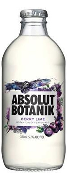 Absolut Berry Lime Bottle 330ml