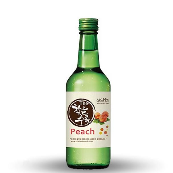 Chateul Soorok Peach Soju 375ml