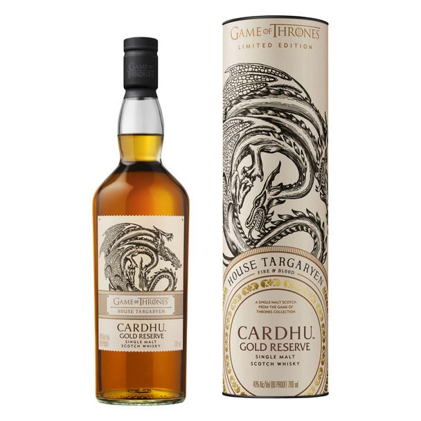 Game of Thrones Edition Cardhu Gold Reserve House Targaryen 700ml