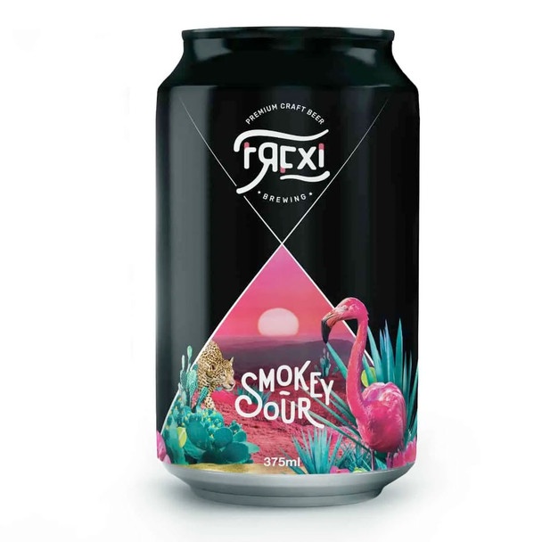 Frexi brewing Smokey Sour 375ml - 4 Pack