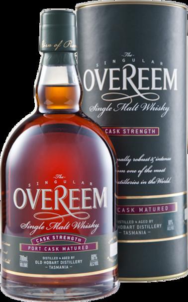 Overeem Single Cask, Single Malt Whisky – Port Matured 60% (Cask Strength)