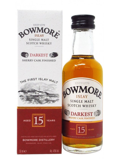 Bowmore 15 Year Old 50ml