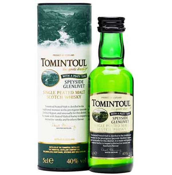 Tomintoul Peaty Tang 50ml