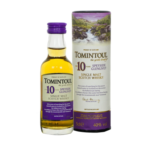 Tomintoul 10 Year Old 50ml