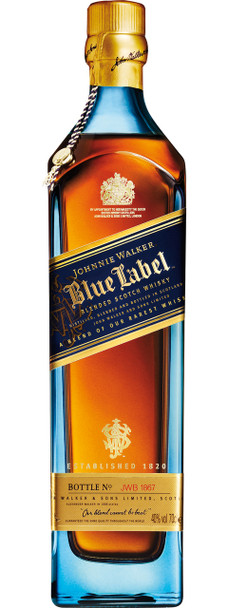 johnnie walker blue label new bottle