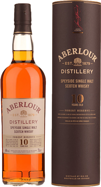 Aberlour Forest Reserve 10 Year Old Single Malt Scotch Whisky 700ml
