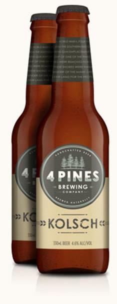 4 Pines Draught 330ml