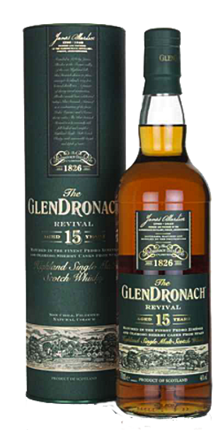 GlenDronach 15 Year Old Revival Whisky 700ml