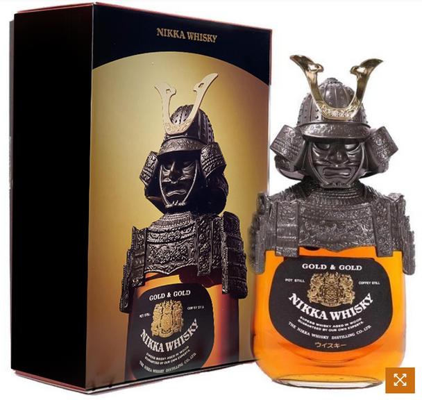NIKKA GOLD & GOLD WHISKY NGK- 01 SAMURAI 750ml