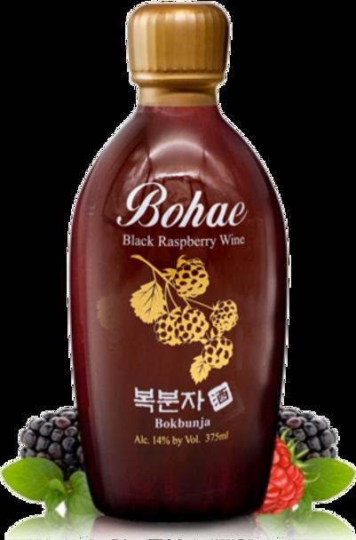 Bohae Bokbunja Raspberry Wine 375ml