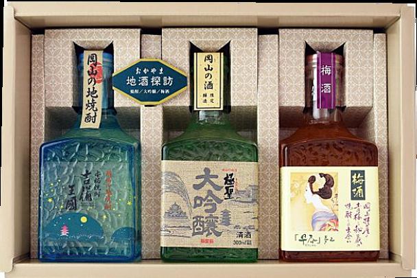 Famous sake exploration 銘酒探訪ギフトセット ART30