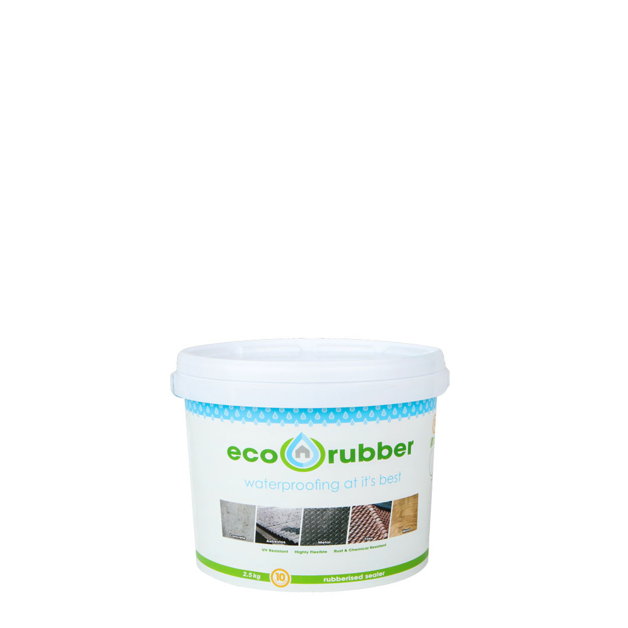 Eco Rubber Contractor 2.5kg - Brown
