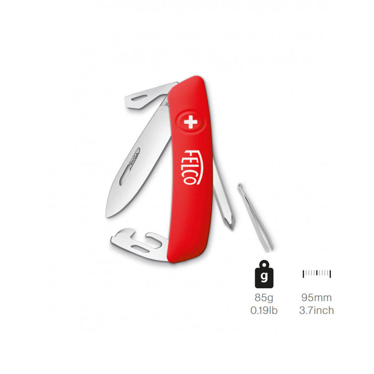 Knife Felco 504 Swiss 9 Functions + Screwdriver
