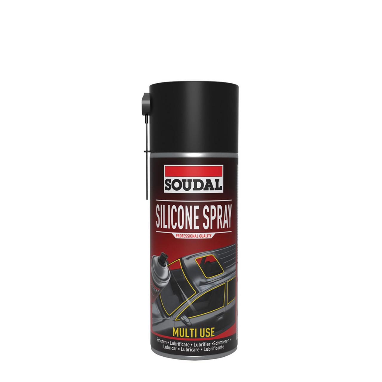 Soudal Silicone Spray Multi-use 400ml