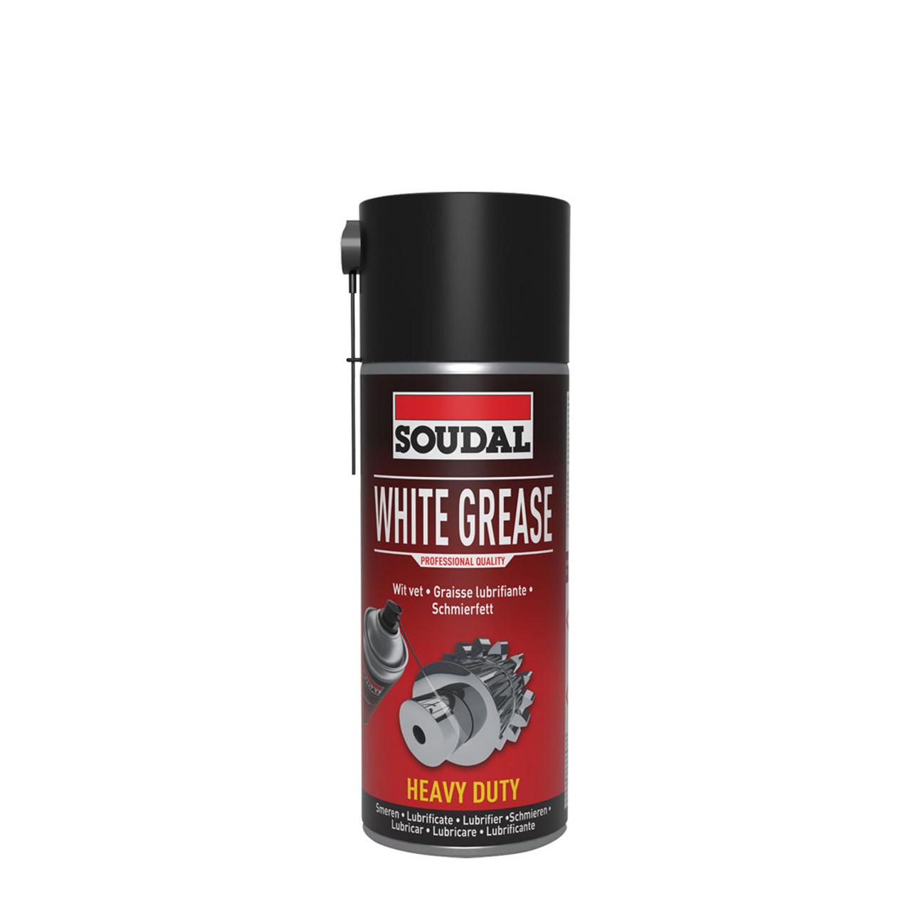 Soudal Spray White Grease 400ml
