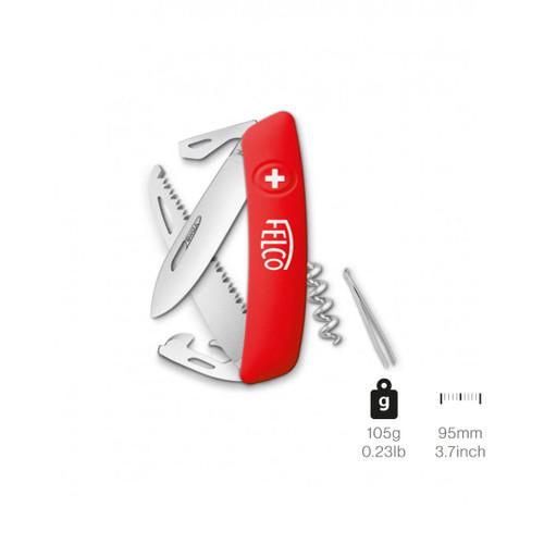 Knife Felco 505 Swiss 10 Functions + Cork & Saw