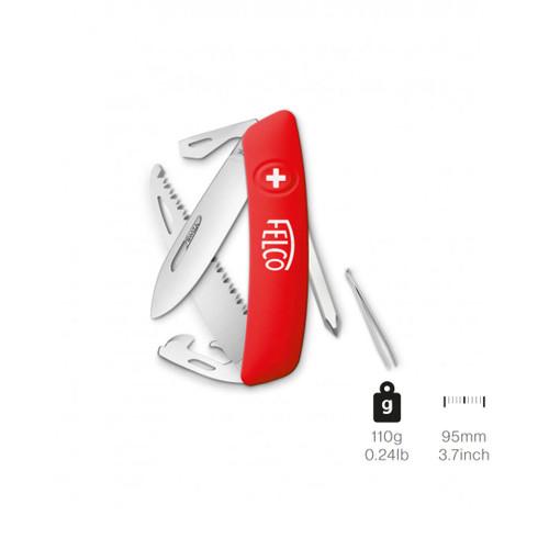 Knife Felco 506 Swiss 10 Functions + Screwdriver & Saw