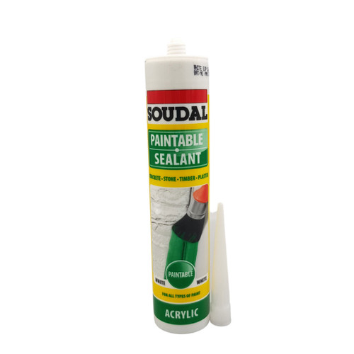 Soudal Paintable Sealant  - White 270ml