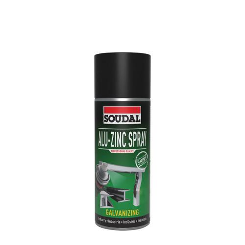 Soudal Alu Zinc Spray 400ml Shiny