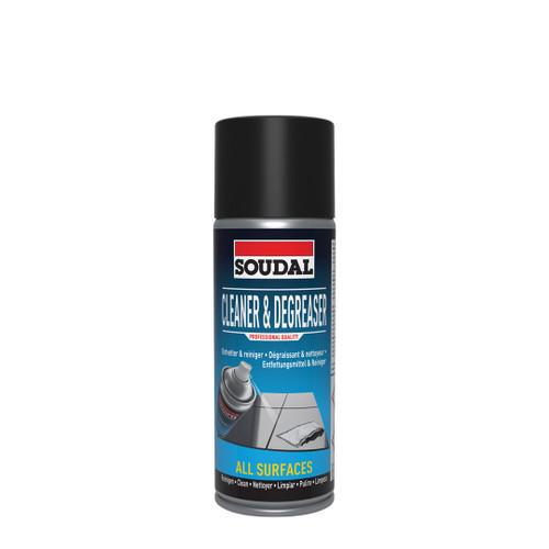 Soudal Spray Cleaner & Degreaser 400ml