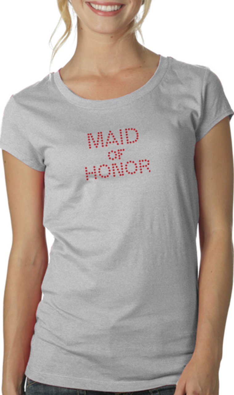 Maid of Honor - Block Style