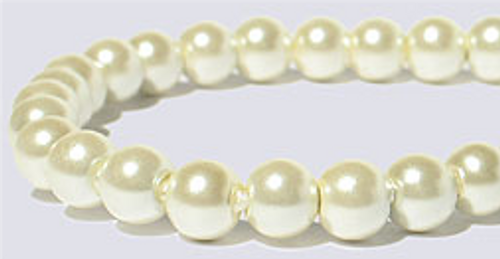 This is a close-up of the pearlescent beads used in this design.