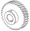 Seat Tilt Motor Gear Dental EZ Chair Part - DEG601 (OEM No: 3800-151)