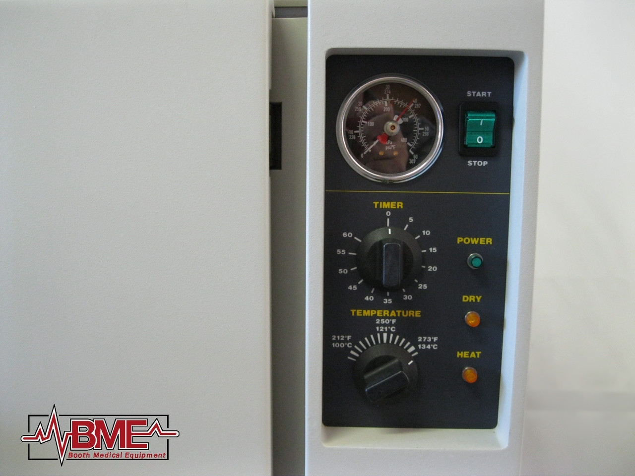 Booth Medical - Tuttnauer 3850M 230V Autoclave - Controls