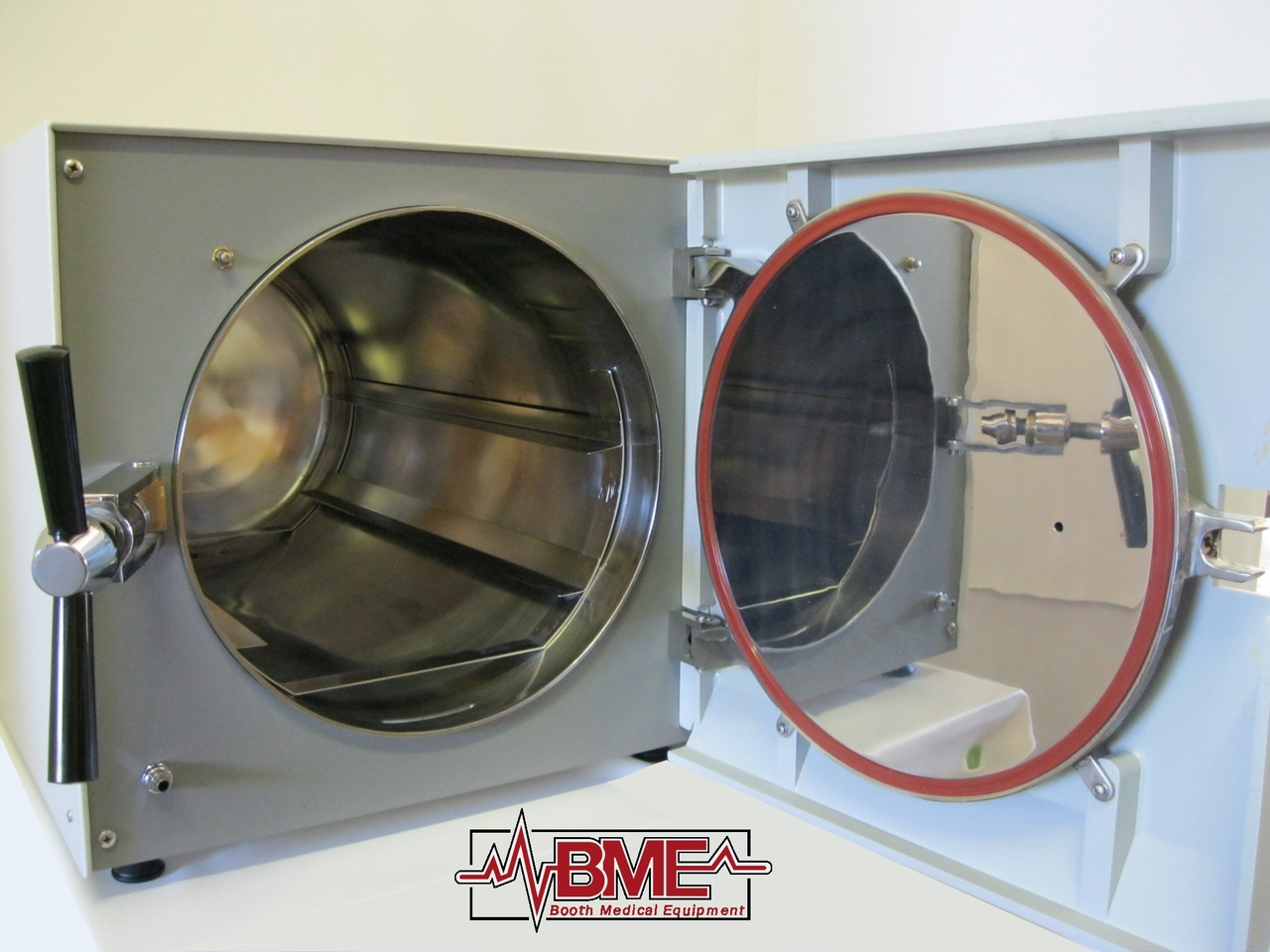 Booth Medical - Tuttnauer 3850M 230V Autoclave - Open Door