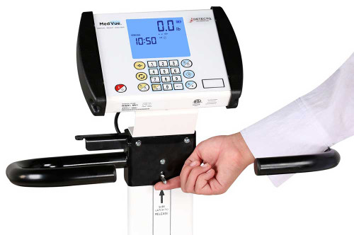 Booth Medical - 6550 Detecto - Wheelchair Scale,  Digital control