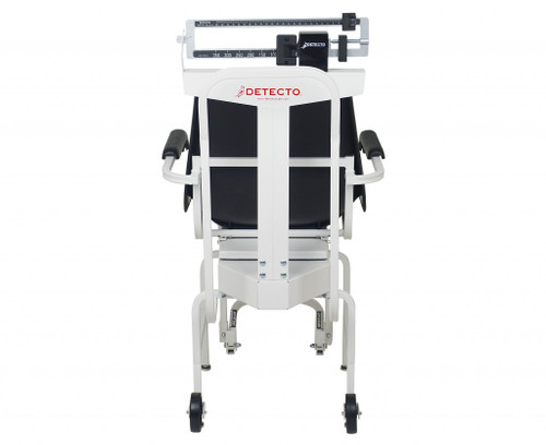 Detecto 475 Chair Scale Facing Back