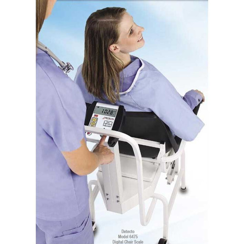Detecto Model 6475 Digital Chair Scale Photo