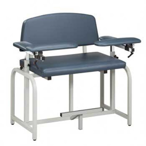 Blood Drawing Chair 66099B, Bariatric, Extra-Tall, Draw Chair w/Padded Flip Arm