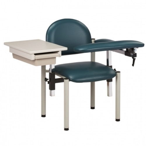 Booth Medical - Clinton 6059-U Padded Blood Drawing Chair with Drawer