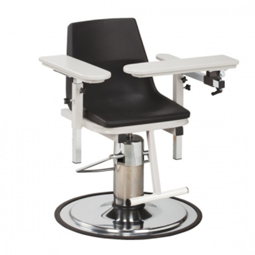 Booth Medical - Clinton 6330-P E-Z-Clean Hydraulic Blood Drawing Chair